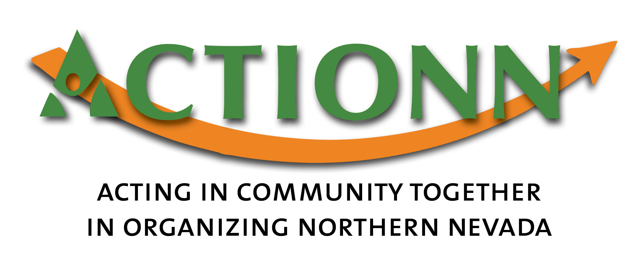 ACTIONN logo: Acting in Community Together in Organizing Northern Nevada